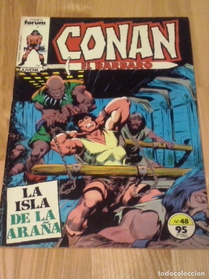 COMIC CONAN EL BARBARO FORUM PLANETA NUMERO 48 (Tebeos y Comics - Forum - Conan)