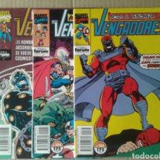 Cómics: LOTE LOS VENGADORES, NÚMEROS 98, 104 Y 105. SAGA ACTOS DE VENGANZA (COMICS FORUM).. Lote 93868745