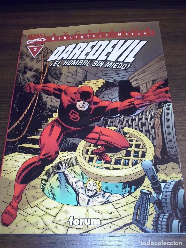 Cómics: Lote comics Marvel Biblioteca Forum Daredevil 1 al 12 - Foto 2 - 93869385