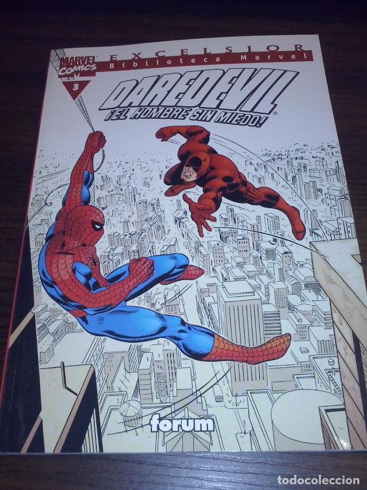 Cómics: Lote comics Marvel Biblioteca Forum Daredevil 1 al 12 - Foto 3 - 93869385