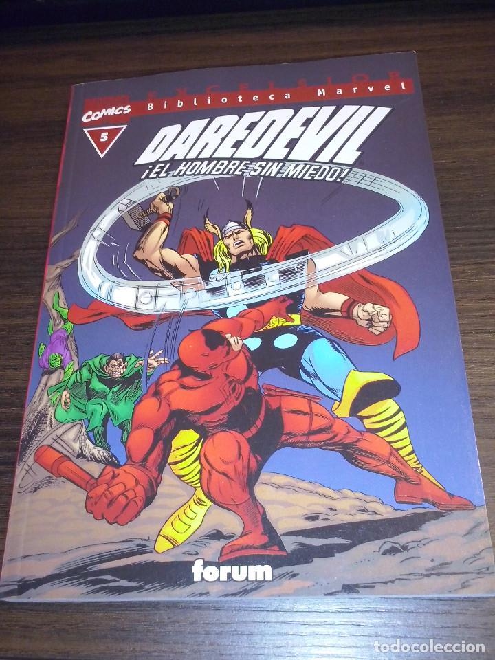 Cómics: Lote comics Marvel Biblioteca Forum Daredevil 1 al 12 - Foto 5 - 93869385