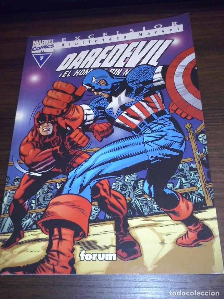 Cómics: Lote comics Marvel Biblioteca Forum Daredevil 1 al 12 - Foto 7 - 93869385