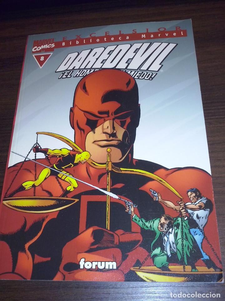 Cómics: Lote comics Marvel Biblioteca Forum Daredevil 1 al 12 - Foto 8 - 93869385