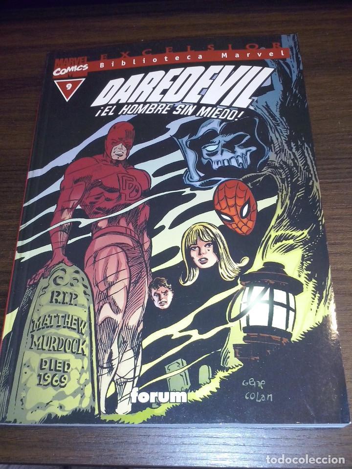 Cómics: Lote comics Marvel Biblioteca Forum Daredevil 1 al 12 - Foto 9 - 93869385