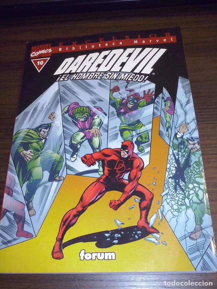 Cómics: Lote comics Marvel Biblioteca Forum Daredevil 1 al 12 - Foto 10 - 93869385