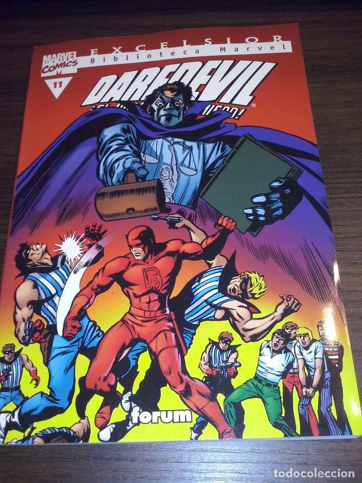 Cómics: Lote comics Marvel Biblioteca Forum Daredevil 1 al 12 - Foto 11 - 93869385