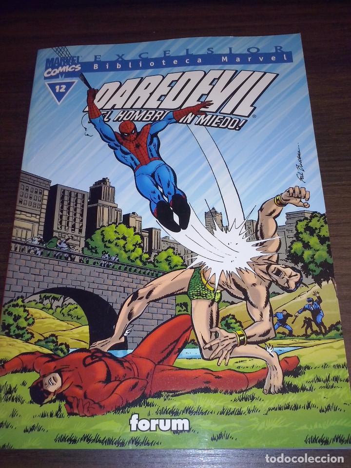 Cómics: Lote comics Marvel Biblioteca Forum Daredevil 1 al 12 - Foto 12 - 93869385