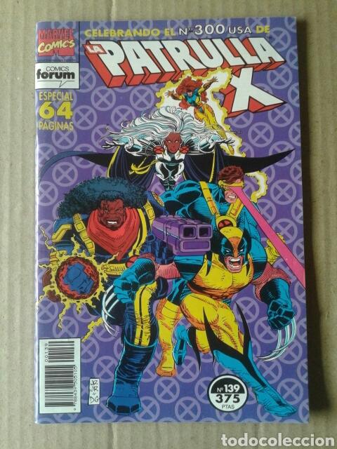 PATRULLA X N°139 (COMICS FORUM). INCLUYE EL NÚMERO 300 USA. ESPECIAL 64 PÁGINAS. (Tebeos y Comics - Forum - Patrulla X)