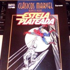 Cómics: ESTELA PLATEADA -SILVER SURFER -CLÁSICOS MARVEL BLANCO Y NEGRO. Lote 93904935