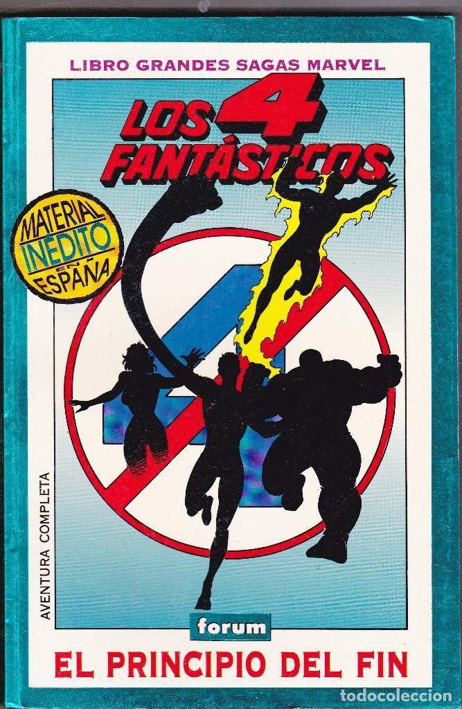 GRANDES SAGAS MARVEL LOS 4 FANTASTICOS EL PRINCIPIO DEL FIN (Tebeos y Comics - Forum - 4 Fantásticos)