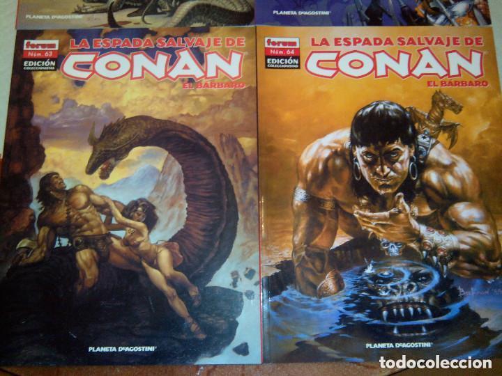 LA ESPADA SALVAJE DE CONAN COLECCIONISTA COLECCIONISTAS LOTE DE 24 NUMEROS DISTINTOS. VER FOTOS (Tebeos y Comics - Forum - Conan)