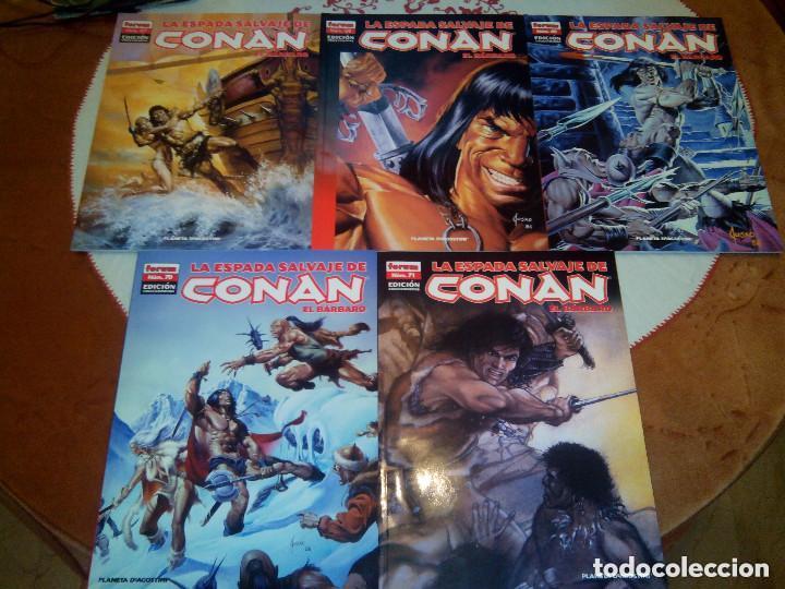 Cómics: La espada salvaje de Conan coleccionista coleccionistas lote de 24 numeros distintos. Ver fotos - Foto 2 - 94039250