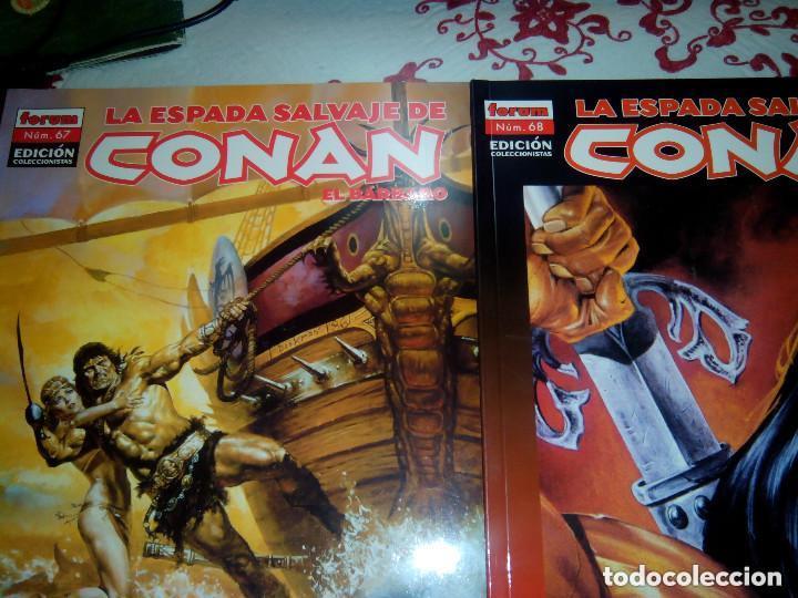 Cómics: La espada salvaje de Conan coleccionista coleccionistas lote de 24 numeros distintos. Ver fotos - Foto 3 - 94039250