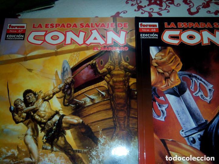 Cómics: La espada salvaje de Conan coleccionista coleccionistas lote de 24 numeros distintos. Ver fotos - Foto 4 - 94039250