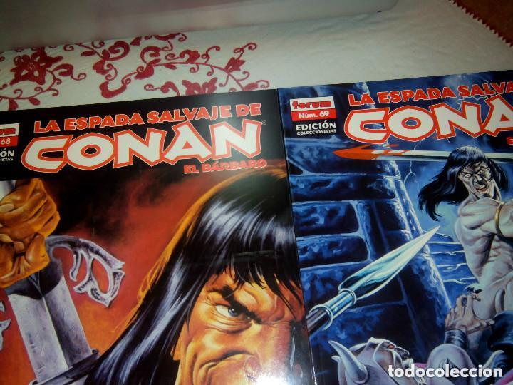 Cómics: La espada salvaje de Conan coleccionista coleccionistas lote de 24 numeros distintos. Ver fotos - Foto 5 - 94039250