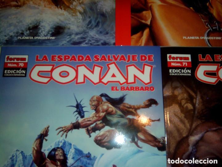 Cómics: La espada salvaje de Conan coleccionista coleccionistas lote de 24 numeros distintos. Ver fotos - Foto 6 - 94039250