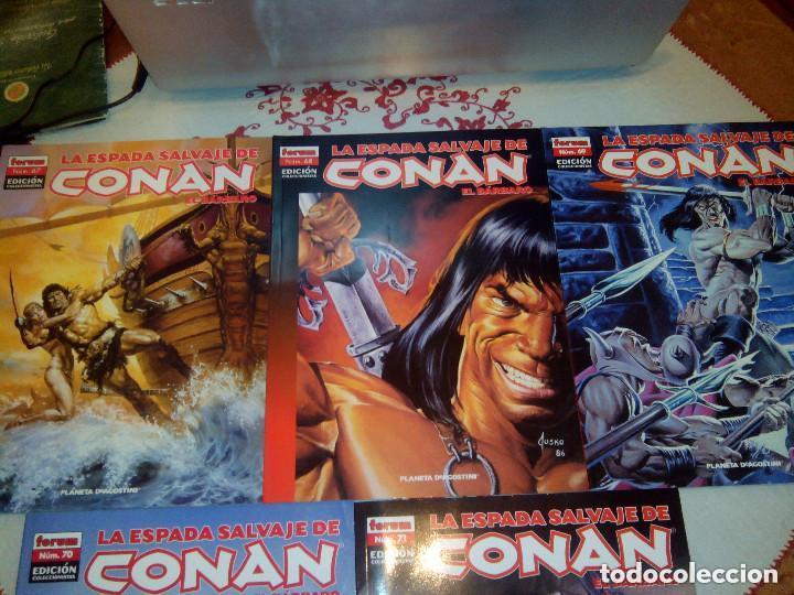 Cómics: La espada salvaje de Conan coleccionista coleccionistas lote de 24 numeros distintos. Ver fotos - Foto 7 - 94039250