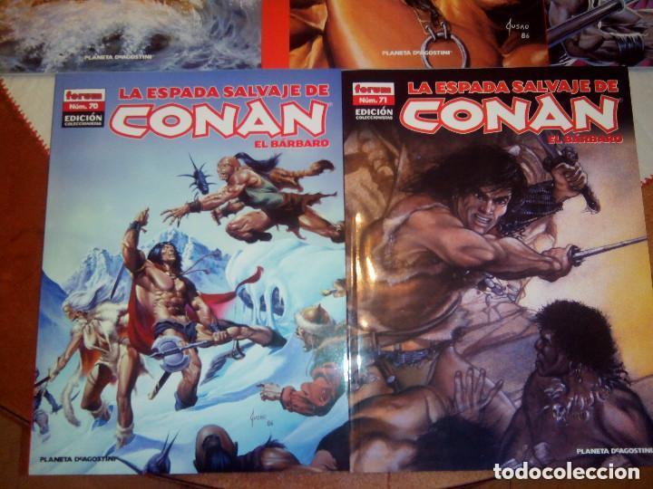 Cómics: La espada salvaje de Conan coleccionista coleccionistas lote de 24 numeros distintos. Ver fotos - Foto 8 - 94039250