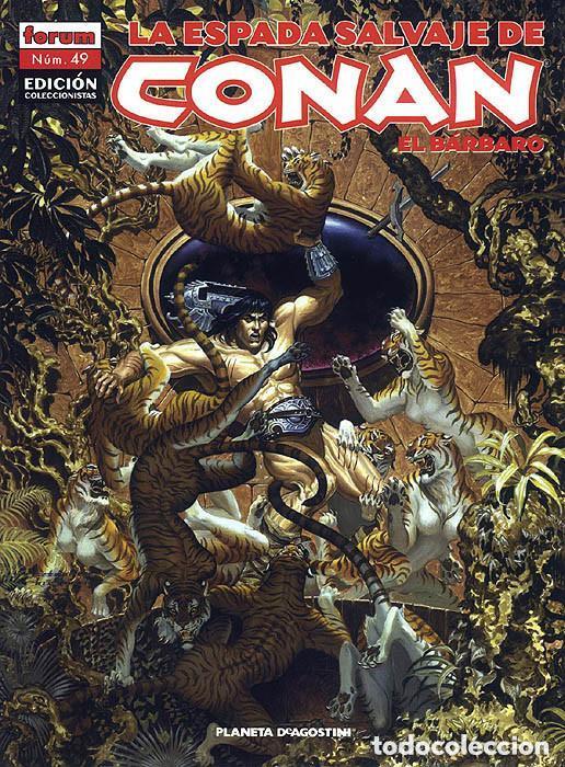 Cómics: La espada salvaje de Conan coleccionista coleccionistas lote de 24 numeros distintos. Ver fotos - Foto 9 - 94039250