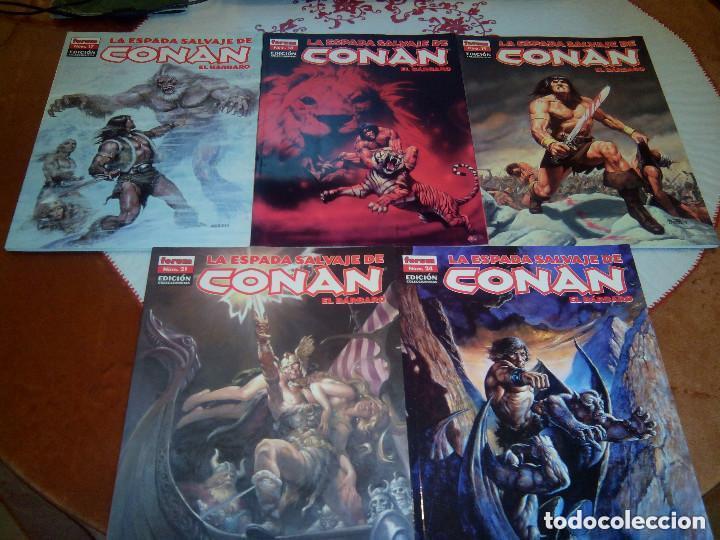 Cómics: La espada salvaje de Conan coleccionista coleccionistas lote de 24 numeros distintos. Ver fotos - Foto 10 - 94039250