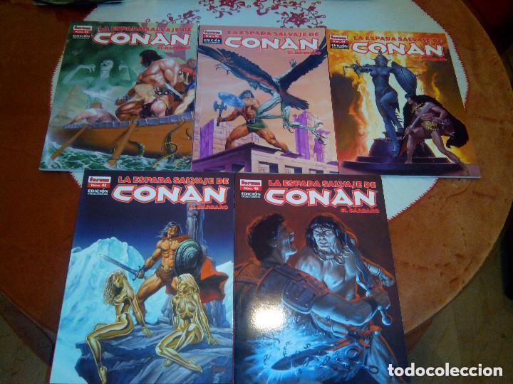 Cómics: La espada salvaje de Conan coleccionista coleccionistas lote de 24 numeros distintos. Ver fotos - Foto 13 - 94039250