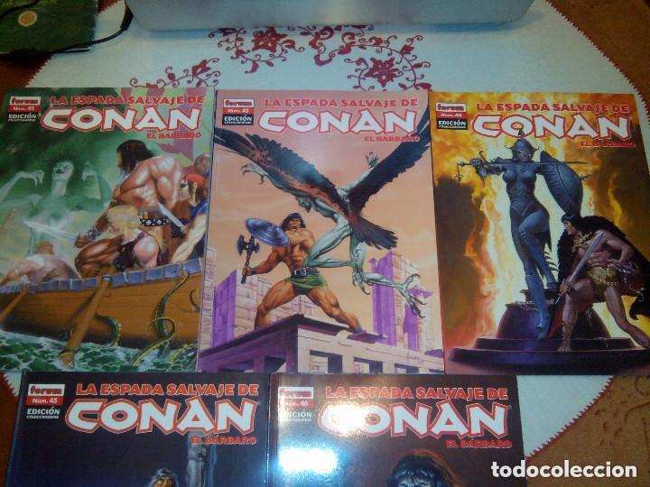 Cómics: La espada salvaje de Conan coleccionista coleccionistas lote de 24 numeros distintos. Ver fotos - Foto 14 - 94039250