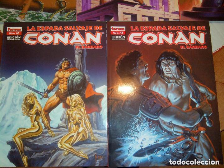 Cómics: La espada salvaje de Conan coleccionista coleccionistas lote de 24 numeros distintos. Ver fotos - Foto 15 - 94039250