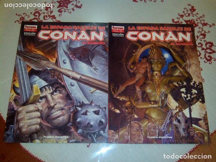 Cómics: La espada salvaje de Conan coleccionista coleccionistas lote de 24 numeros distintos. Ver fotos - Foto 16 - 94039250