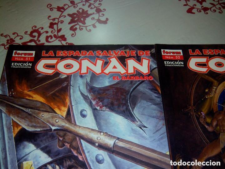 Cómics: La espada salvaje de Conan coleccionista coleccionistas lote de 24 numeros distintos. Ver fotos - Foto 17 - 94039250
