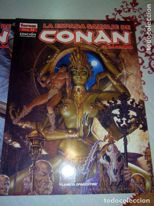 Cómics: La espada salvaje de Conan coleccionista coleccionistas lote de 24 numeros distintos. Ver fotos - Foto 19 - 94039250