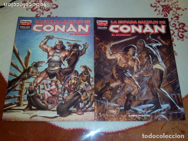 Cómics: La espada salvaje de Conan coleccionista coleccionistas lote de 24 numeros distintos. Ver fotos - Foto 20 - 94039250