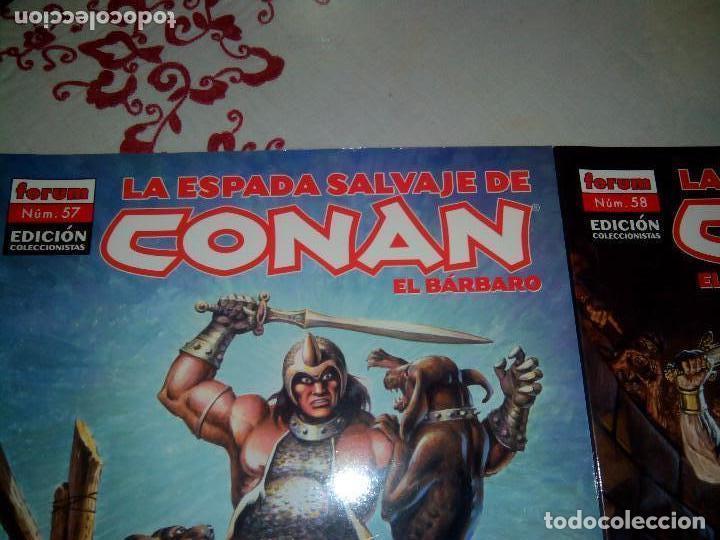 Cómics: La espada salvaje de Conan coleccionista coleccionistas lote de 24 numeros distintos. Ver fotos - Foto 21 - 94039250