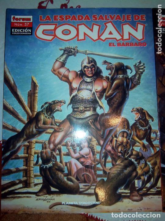 Cómics: La espada salvaje de Conan coleccionista coleccionistas lote de 24 numeros distintos. Ver fotos - Foto 22 - 94039250