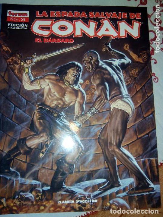 Cómics: La espada salvaje de Conan coleccionista coleccionistas lote de 24 numeros distintos. Ver fotos - Foto 23 - 94039250