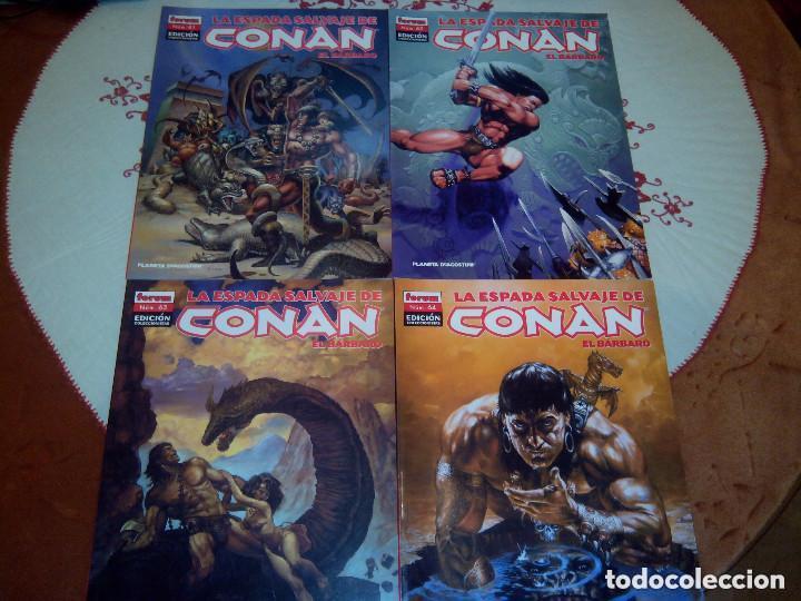 Cómics: La espada salvaje de Conan coleccionista coleccionistas lote de 24 numeros distintos. Ver fotos - Foto 24 - 94039250