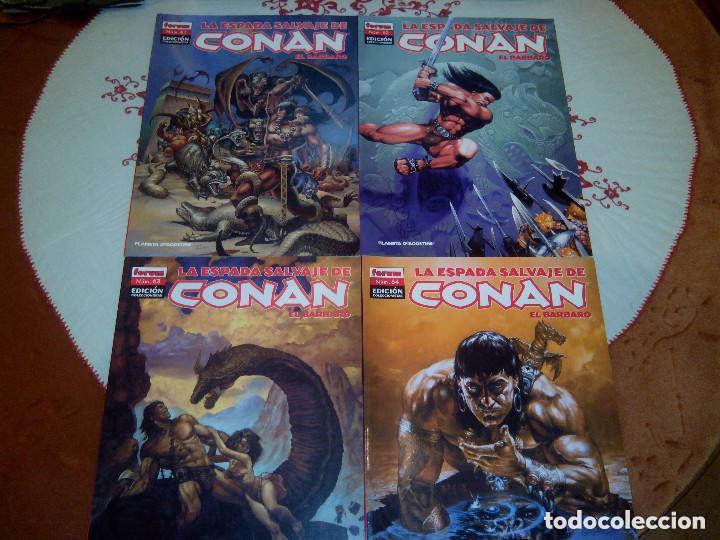 Cómics: La espada salvaje de Conan coleccionista coleccionistas lote de 24 numeros distintos. Ver fotos - Foto 25 - 94039250