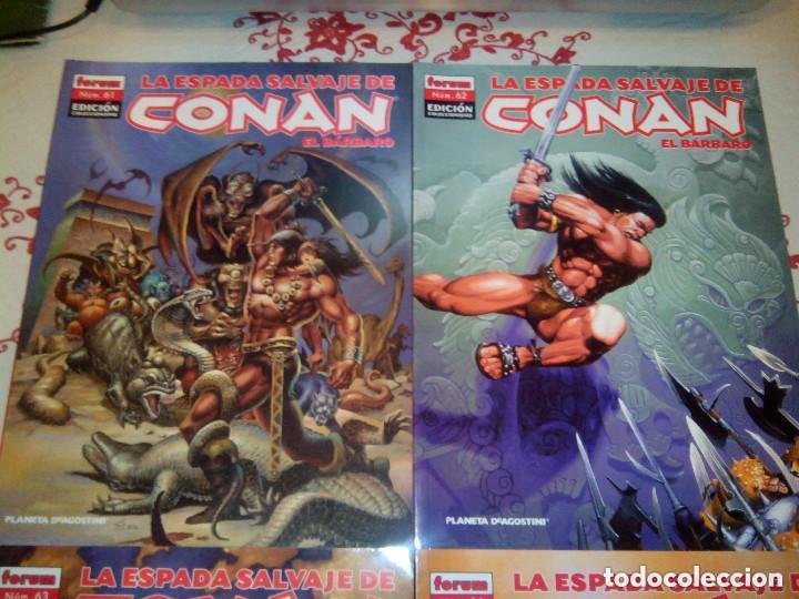 Cómics: La espada salvaje de Conan coleccionista coleccionistas lote de 24 numeros distintos. Ver fotos - Foto 26 - 94039250