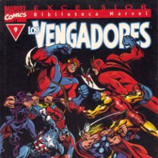 Cómics: LOS VENGADORES Nº9. BIBLIOTECA MARVEL EXCELSIOR. Lote 94071520
