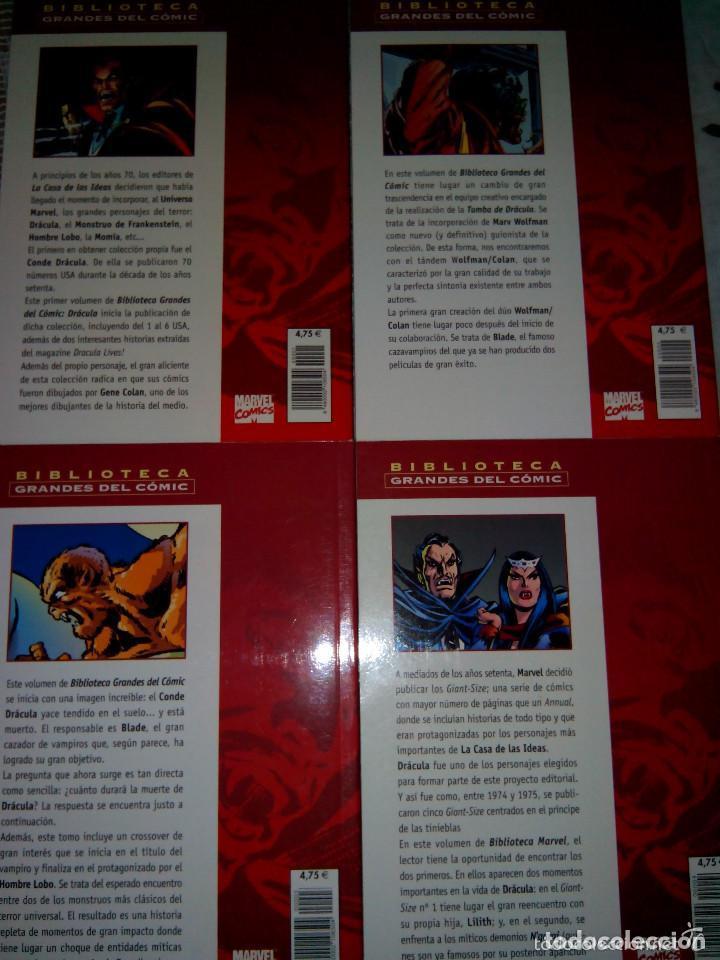 Cómics: BIBLIOTECA MARVEL 4 FANTÁSTICOS HULK DAREDEVIL GRANDES DEL CÓMIC DRÁCULA Y TERROR. buen precio - Foto 2 - 94150930