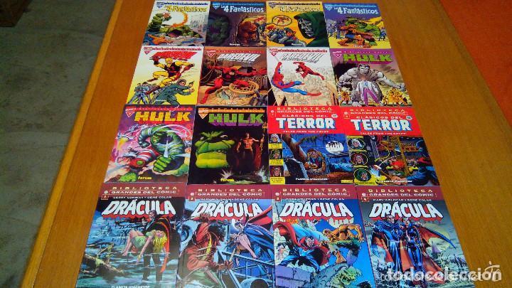 Cómics: BIBLIOTECA MARVEL 4 FANTÁSTICOS HULK DAREDEVIL GRANDES DEL CÓMIC DRÁCULA Y TERROR. buen precio - Foto 4 - 94150930