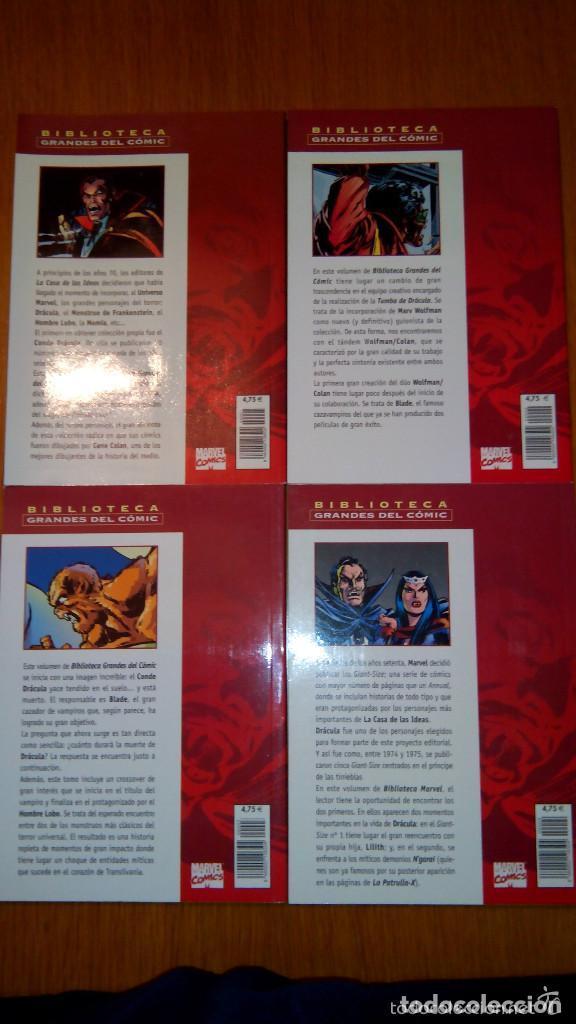 Cómics: BIBLIOTECA MARVEL 4 FANTÁSTICOS HULK DAREDEVIL GRANDES DEL CÓMIC DRÁCULA Y TERROR. buen precio - Foto 7 - 94150930