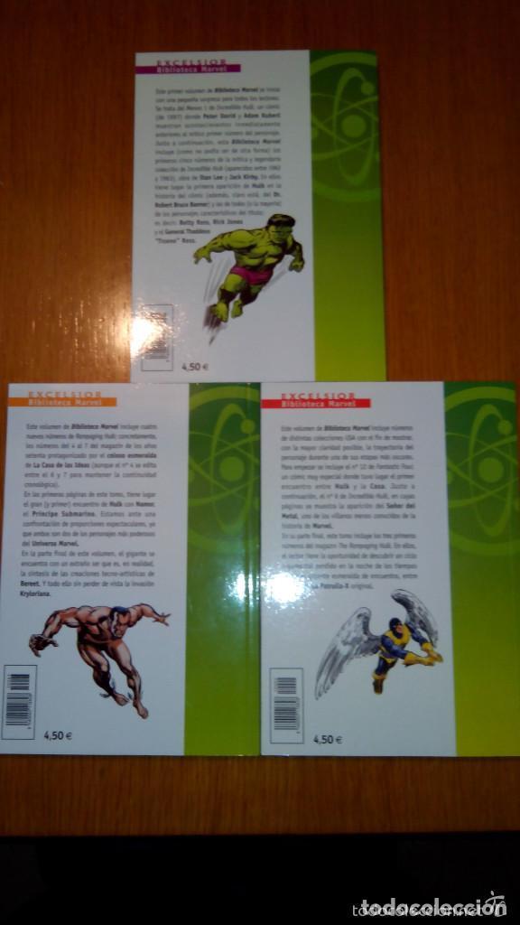 Cómics: BIBLIOTECA MARVEL 4 FANTÁSTICOS HULK DAREDEVIL GRANDES DEL CÓMIC DRÁCULA Y TERROR. buen precio - Foto 10 - 94150930