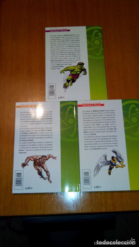 Cómics: BIBLIOTECA MARVEL 4 FANTÁSTICOS HULK DAREDEVIL GRANDES DEL CÓMIC DRÁCULA Y TERROR. buen precio - Foto 11 - 94150930