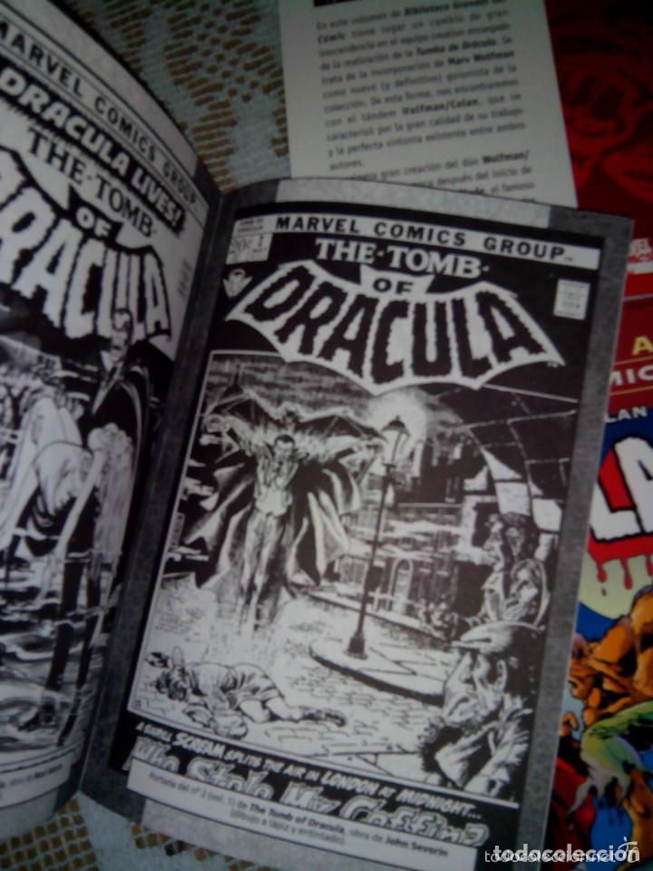 Cómics: BIBLIOTECA MARVEL 4 FANTÁSTICOS HULK DAREDEVIL GRANDES DEL CÓMIC DRÁCULA Y TERROR. buen precio - Foto 15 - 94150930