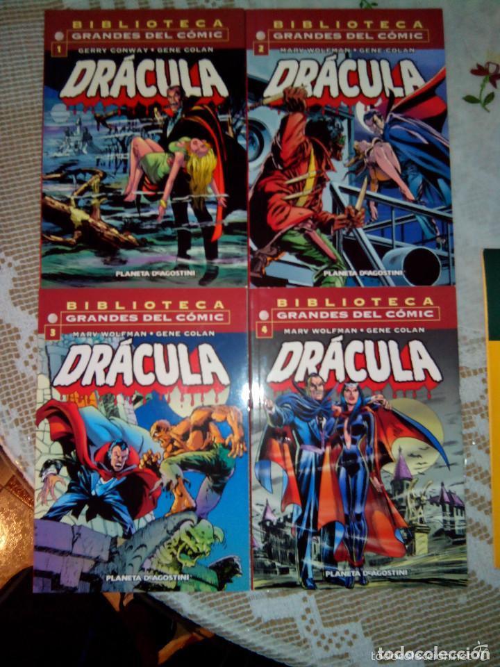 Cómics: BIBLIOTECA MARVEL 4 FANTÁSTICOS HULK DAREDEVIL GRANDES DEL CÓMIC DRÁCULA Y TERROR. buen precio - Foto 16 - 94150930