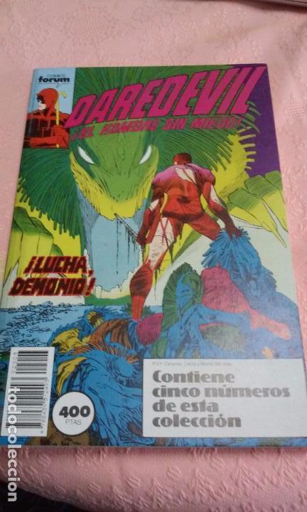 DAREDEVIL TOMO RETAPADO (COMPRENDE LOS N.º 11 AL 15) FORUM (Tebeos y Comics - Forum - Retapados)