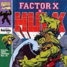 Cómics: FACTOR X Y HULK VOL.1 Nº 3. Lote 94176495