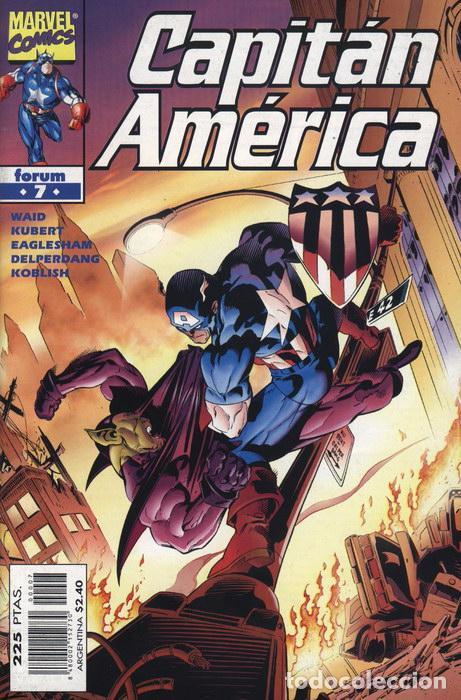 CAPITÁN AMÉRICA VOL.4 Nº 7 FORUM IMPECABLE (Tebeos y Comics - Forum - Capitán América)