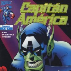 Cómics: CAPITÁN AMÉRICA VOL.4 Nº 6 FORUM IMPECABLE. Lote 94203295
