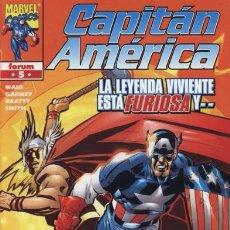 Cómics: CAPITÁN AMÉRICA VOL.4 Nº 5 FORUM NUEVO. Lote 94203305